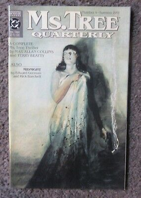 "Dc Comics ""ms.tree Quarterly"" #4 Summer 1991 ""drop Dead Handsome"" Vf/nm 9.0 Oop"