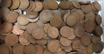 #41. About 2.5  Kilograms Australian Kangaroo Design Penny Coins, About 270