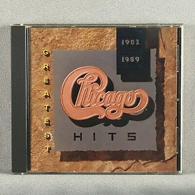Chicago ‎– Greatest Hits 1982-1989 - Orig Press Used CD - VG+