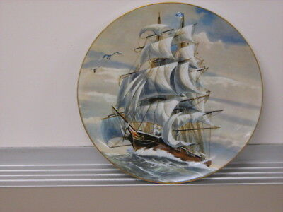 The Sea Witch - Sailing Ship Plate - Rosenthal/Danbury Mint - Excellent