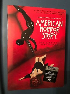 American Horror Story: The Complete First Season - Brand New 4-Dvd Set