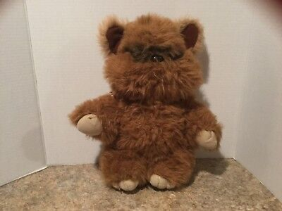"KENNER Vintage 15"" STAR WARS WICKET THE EWOK Plush Stuffed TOY - 1983"