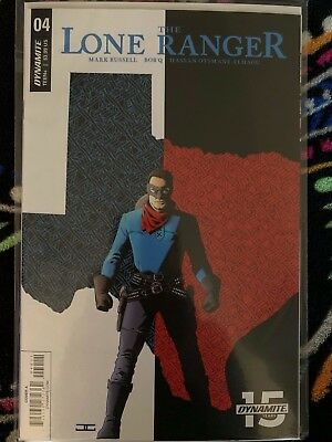 THE LONE RANGER 3 Cover A Dynamite 2018