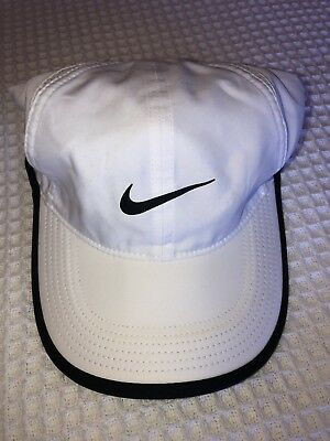 693d880ad0169 Women s Nike Featherlight Dri-Fit White Hat Cap OSFM (One Size Fits Most)