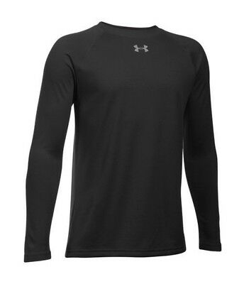 NWT Under Armour Youth Boys' Locker Long Sleeve Shirt Loose $25 MSRP