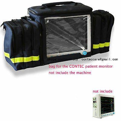 Promotion Handbag for CONTEC Patient Monitor CMS700080009000,carrying bag,NEW