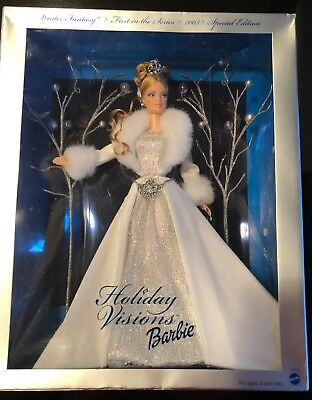 2003 Holiday Visions Barbie Winter Fantasy - Mattel Special Edition