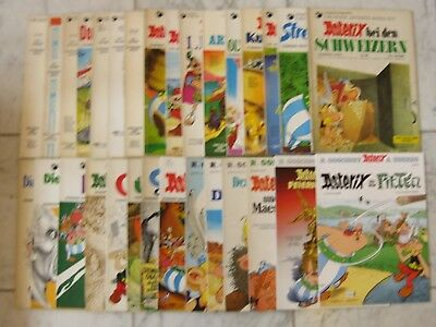 30 x Asterix Hefte Softcover Band 1-35