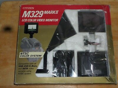 New Citizen M938 3.8 Inch Lcd Color Video Monitor,