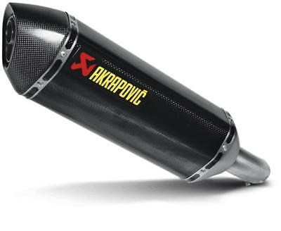 Akrapovic Street Legal Slip-On Muffler Carbon Fiber
