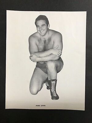 WRESTLING PHOTO FROM 1960's MARK LEWIN FROM FESTIVAL HALL DAYS