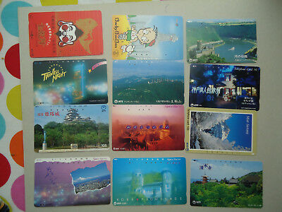 JAPAN USED LOT 112 CARDS DIFFERENT SERIA 331 10 scan