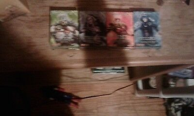 mtg magic the gathering 4 deck lot 30 cards in each deck