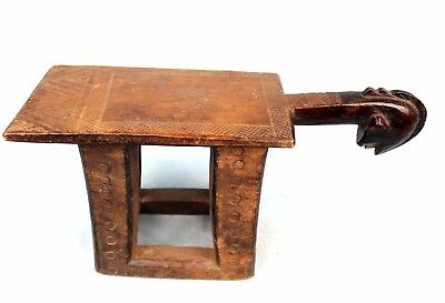 Art African Tribal - African Stool - Stool Mossi Antique & Common - 39 Cm