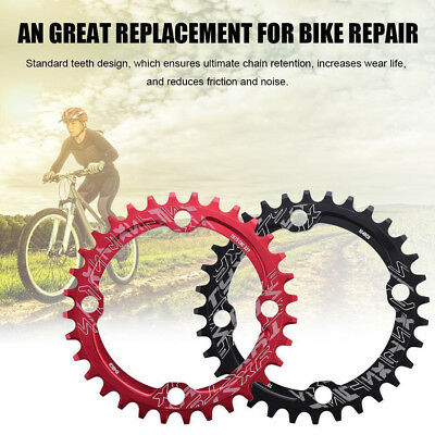 104BCD Moutian Bike Narrow Wide Round Speed Chain Ring 32T/34T/36T/38T Gracious