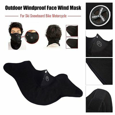 Face Wind Mask Veil for Ski Snowboard Bike Motorcycle Hiking Neck Warm T2