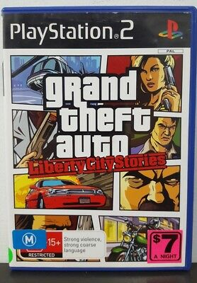 Grand Theft Auto: Liberty City Stories - PS2 Game