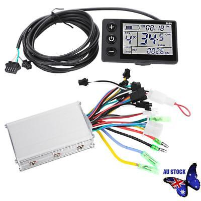 Motor LCD Display Electric Brushless Controller 24V-48V For Electric Bike Safety