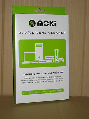 CD/DVD Player Head CLEANER Kit NEW cleaning disk disc lens laser game movie Moki