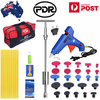 39pcs PDR Tools Kit Repair Dent Puller Lifter Auto Body Dent Removal Hail Damage