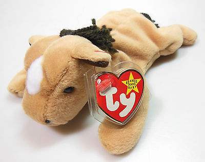 """Ty Beanie Baby, """"derby"""" The Horse, 1995, Original Adult Owned, Mint Condition #2"""