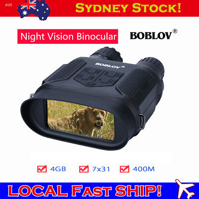 BOBLOV Infrared Night Vision 7x31 Binocular Scope Telescope Hunting Wildlife AU!