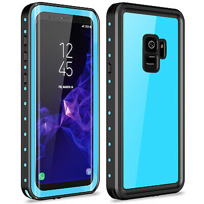 For Samsung Galaxy S9 Plus Waterproof Case Built-in Screen Protector Shockproof