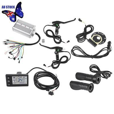 36V/48V 1500W Brushless E-bike Controller Motor Controller LCD Panel Kit Safety
