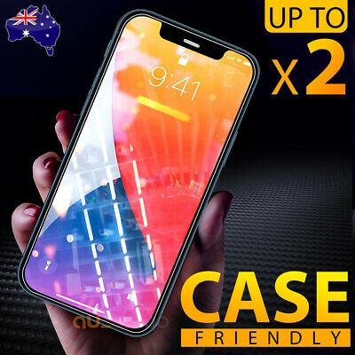 Tempered Glass Screen Protector For Apple iPhone X XS Max XR 8 7 6 6S Plus 5S SE