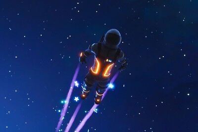 Dark Voyager Fortnite Poster | A4 A3 & A3+ SIZES | LAMINATED HD Print | Game