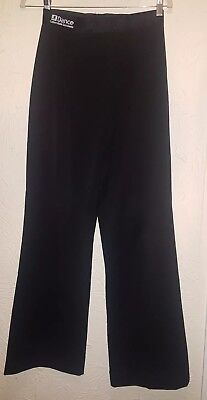 """JF Dance Youth Mens Boys Ballroom Latin Competition Practice Trousers Waist 27"""""""
