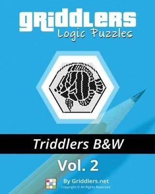 Griddlers Logic Puzzles - Triddlers Black and White 9789657679326
