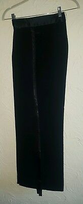 """Janus Youth Mens Ballroom Latin Competition Practice Trousers Waist 32"""""""