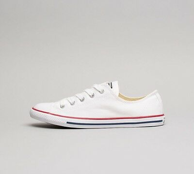 RRP £49.99 SF32 Womens Converse Chuck Taylor All Star OX Trainer