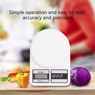 Kitchen Scale Electronic Food Weighing Scale Digital Measuring Gram Accurate0