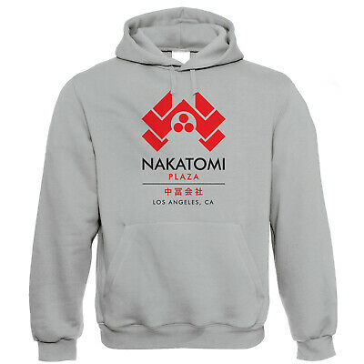 Nakatomi Plaza Mens Hoodie - Gift for Him Dad Action Movie Inspired