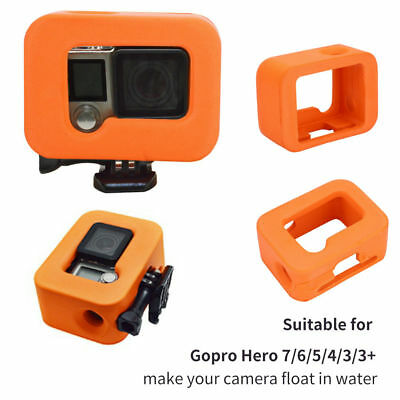 Soft Silicone Camera Case Cage Protector Float Cover for Gopro Hero 7/6/5/4/3/3+