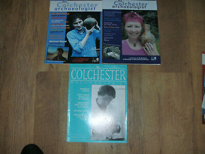 Colchester Archaeologist 3 Magazines Archaeology Excavations Artefacts Pottery
