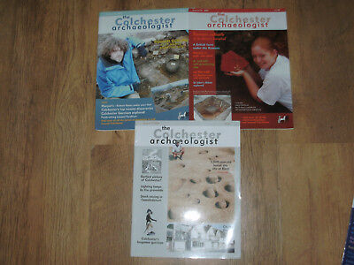 Colchester Archaeologist 3 Magazine Archaeology Finds Excavations Artefacts