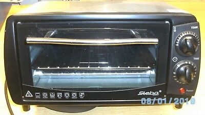 Mini Backofen Pizzaofen 9 L.  von Steba Germany Type KB9.2  800 Watt