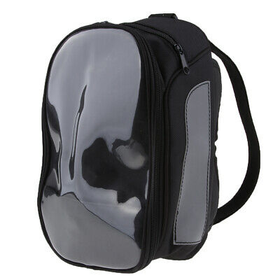 Universal Black Motorcycle Magnetic Fuel Tank Bag Outdoor Gear Luggage Pack