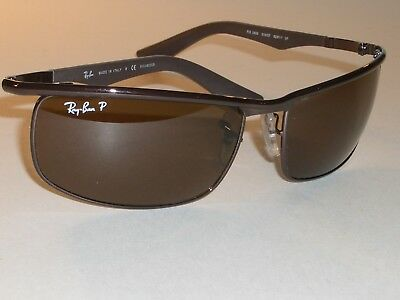 968a86cd0e Ray-Ban Rb3459 014 57 3P 62  17Mm Brown Crystal Polarized Metal