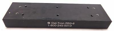 """Del-Tron RS3-6 Cross Roller Slide, Travel: 6"""", 704 lbs Max, 6 Hole Mount"""