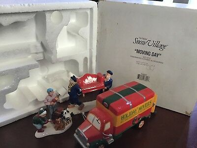 Dept 56-Original Snow Village-Moving Day - 54892