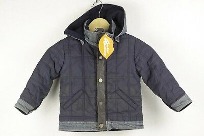 95700a6c1 BOYS INFANTS ARMANI JUNIOR Jacket Coat QUILTED PADDED Hooded AGE 3 A ...