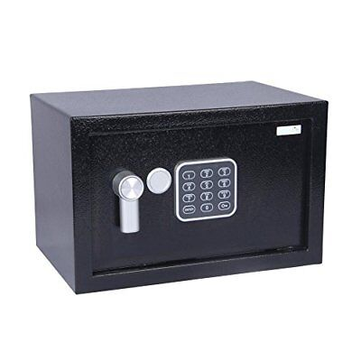 SereneLife Safe Box with Mechanical Override, Includes Keys