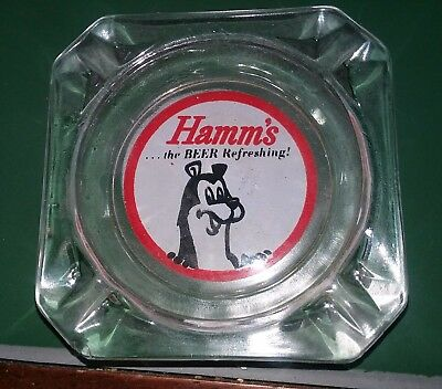 Hamms beer ashtray