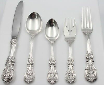 Reed & Barton Francis I Sterling Silver 5-Pc Flatware Place Setting- Nr #4156