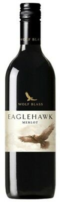 Wolf Blass Eaglehawk Merlot 750mL ea - Red Wine - Origin Australia