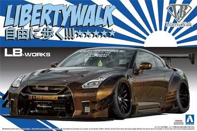 Aoshima 55915 LB-Works R35 GT-R Type 2 Ver. 1 1/24 Scale kit